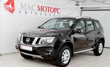 Nissan Terrano Черный