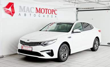 Kia Optima NEW Белый